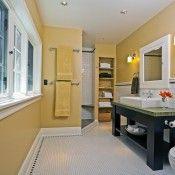 #Remodeled #bathroom by Gaspar's Construction #pnw homeimprovement #home #design