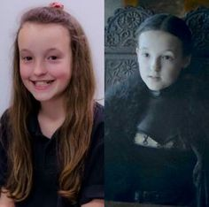 Bella Ramsey plays Lady Mormont in The Game of Thrones.