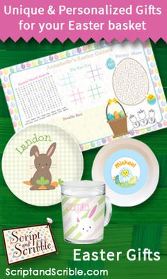Kids will enjoy their easter activity placemats decorated with kids will enjoy their easter activity placemats decorated with cute bunny graphics these mats have a dry erase laminate and built in games for h negle Choice Image