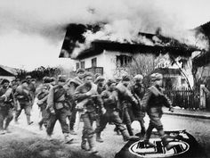 Germany Soldiers of the Red Army march to Berlin Yevgeny Khaldei/TASS