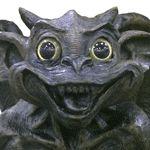 Solar Gargoyle Statue