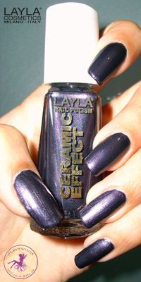 Ninja Polish: Layla - CE-39 Southern Lights, from the Ceramic Effect collection