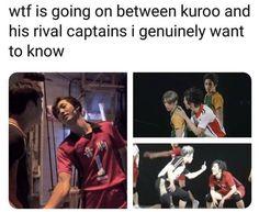 Bokuto Koutarou, Kuroken, Kagehina, Kenma, Haikyuu Characters, Anime Characters, Fb Memes, Funny Memes, Anime Manga