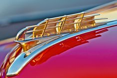 1949 Plymouth Hood Ornament - Car Images by Jill Reger