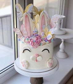 Girls First Birthday Cake, Girl Cakes, Cake Cookies, Happy Easter, Food Styling, First Birthdays, Bakery, Desserts, Cooking