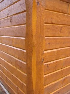 Rustic exterior siding rustic hand hewn log siding for Siding square
