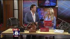 Local man finds success with designer handbags