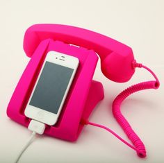 Pink Talk Dock Charging Station and Handset from Picsity.com