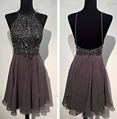 Backless Short Prom Dress, Homecoming Dresses, Graduation Party Dresses, Formal Dress For Teens, BPD0312