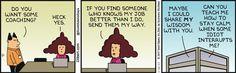 Coaching Alice -  Dilbert Comic Strip on 2017-01-12   Dilbert by Scott Adams