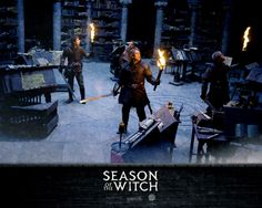 Nicolas Cage, Ron Perlman, Stephen Campbell Moore, and Robert Sheehan in Season of the Witch The Witcher, Stephen Campbell Moore, The Witch Movie, Ron Perlman, Robert Sheehan, Season Of The Witch, Nicolas Cage, Movie Wallpapers, 14th Century