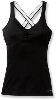 c7179a9aa35 Moving Comfort Flow Crossback Tank Top - Women s - 2014 Closeout - M  Activewear Tops