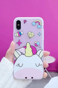Phone Bags & Cases Fitted Cases Cute Cartoon Unicorn Pig Phone Case For Iphone Xs Max Pink Girl Cases For Iphone X 8 7 6s 6 Plus Xr Soft Shell Stands Thin Cover