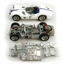 MASERATI Tipo 61 Birdcage - incredible model of a great race car