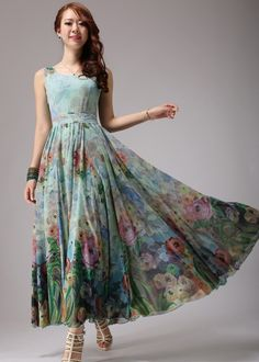 2016 New summer long dress women's sleeveless flower print maxi dress with cape plus size XXXL,4XL floor length dress 3 colors-in Dresses from Women's Clothing & Accessories on Aliexpress.com | Alibaba Group