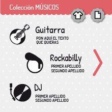 Colección MÚSICOS | miomiomio
