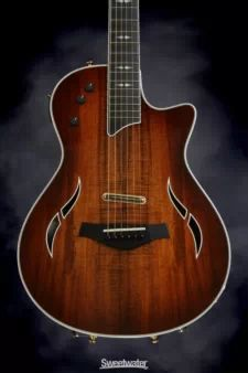 View Item: Taylor Custom Koa top with shaded edgeburst (Guitar