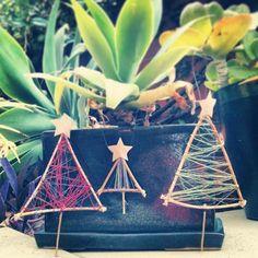 Twitter / CeriMuter: ...handmade Christmas decorations ...