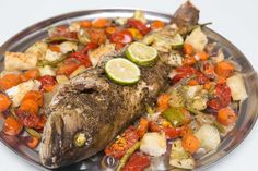 This Baked Grouper recipe is so simple and delicious! It was a joy cooking it ❤️!  #recipes #fishrecipes