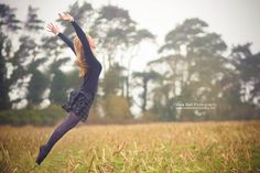 Flying Somewhere Warm - Jump #56 of #100 by Olivia Bell, via Flickr