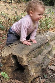 Website promoting their 'nature play' for toddlers