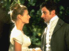 Gwyneth Paltrow and Jeremy Northam in Emma, 1996.