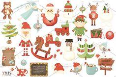 Christmas Design Toolkit  by elfivetrov on @creativemarket