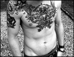 Cheast Tattoo Designs (5)