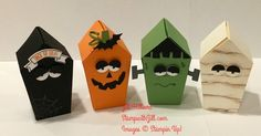 Stinking cute!!!!!           Stamps:Sweet Home  Paper: Black, Vanilla, Wasabi, Pumpkin pie, white  Ink:Pumpkin pie, black and crumb cake  A...