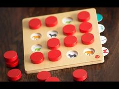 Memory Match - Wooden Concentration Game