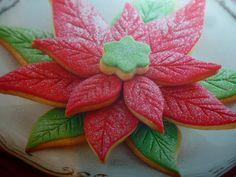 biscotti per natale - stella di  di zucchero