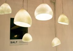 sea salt pendant lights