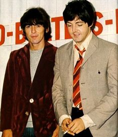 Are your Favorite Beatles Paul McCartney and George Harrison? This is the place for you! George Harrison, The Beatles, Beatles Photos, Liverpool, Ringo Starr, Pop Rock, Rock And Roll, Beatrice Mccartney, Great Bands