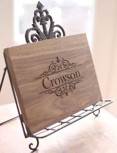 I love this as a Christmas Gift! Personalized Cutting Board Engraved Wood Gift Hostess First Christmas Wedding Gift Under 30 (Item Number 140385) NEW LISTING