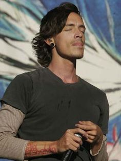 Brandon Boyd, my soulmate. I seriously think we were made for each other. If only...
