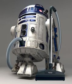 "r2d2 vaccum----lol---do not have this one; actualy have 1 + another for back up, but, have found out if they are bagless, when cleaning out the ""tank"", use vinegar. It cuts down static, cuts greasy stuff, cleans thoroughly, etc, let air dry so you do not totally wipe it out-and replace. Tried it, cuts down on any dust and things, as well as what vaccum is supposed to do, smells better, and seems to kinda run easier...cool, right?"