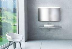 Puro Aluminium, Wall Lights, Sink, Bathtub, Bathroom, Lighting, Home Decor, Bathroom Mirror Cabinet, Tall Mirror