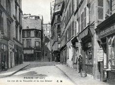 Rue de la Vieuville - Montmartre - Paris  http://www.montmartre-secret.com/
