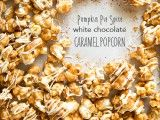 Pumpkin Pie Spice White Chocolate Caramel Popcorn - sounds better than it tastes. Bit heavy on the spices, specifically cloves. Get that right and it will be yummy.