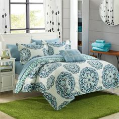 Miranda Quilt Set by Chic Home Yellow - QS4051-BIB-HE