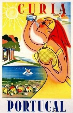 Curia Hotel • Portugal ~ Lost Art of the Luggage Label