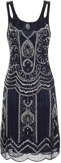 Frock and Frill Ziegfeld Embellished Dress (£145) | Perfect Flapper Dresses to Suit All Body Shapes | POPSUGAR Fashion UK