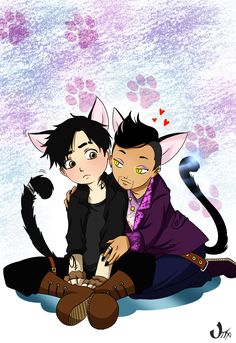 Kitties ...    From the hands off umkasandiary ... shadowhunters, alexander 'alec' lightwood, magnus bane, the mortal instruments, malec, cat