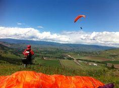 Paraglide Canada Vernon BC Canada