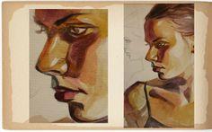 Academical Artworks III by Iva Ivanova, via Behance Painting & Drawing, Artworks, Behance, Fine Art, Drawings, Creative, Sketch, Visual Arts, Portrait