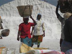 mil Nadu, India salt harvesting by Mirth2012, via Flickr