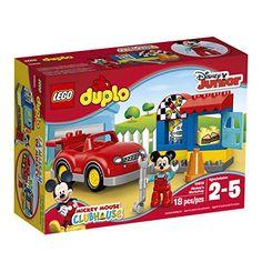 ddcac5f6985c3 Amazon.com  LEGO DUPLO Mickey s Workshop 10829  Toys   Games