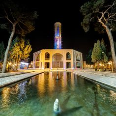 If you ever decide to visit #Iran don't miss the incredible Bagh-e Dolat Abad Garden located in #Yazd a central province in Iran. Photographer: Mohammad Reza Domiri Ganji
