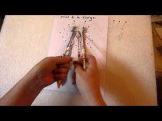 Dentelle aux fuseaux - Point fermé - YouTube