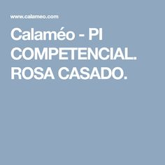 Calaméo - PI COMPETENCIAL. ROSA CASADO.